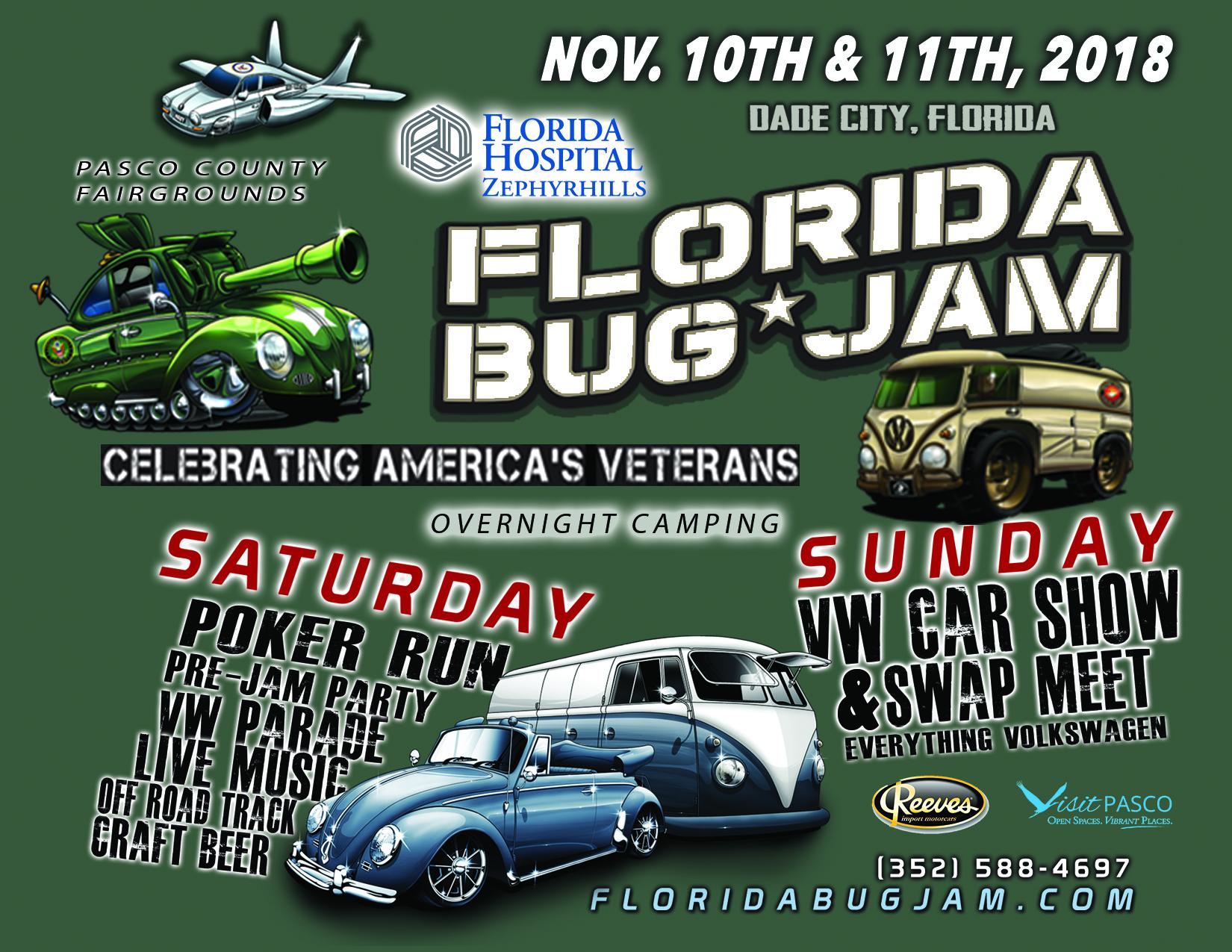 Bug Jam Info FloridaBugJamcom - Dade city fl car show