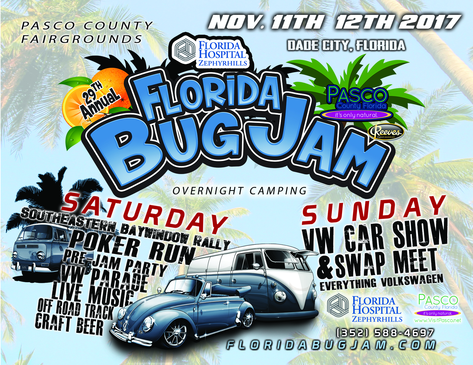 Bug Jam FloridaBugJamcom - Dade city fl car show